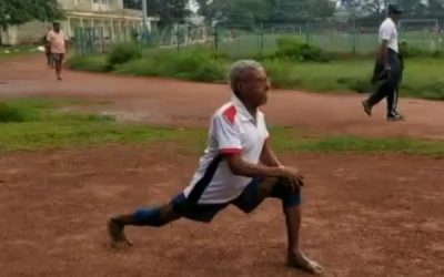 Daily Routine of Surya Namaskar and Cardio, 85+ years