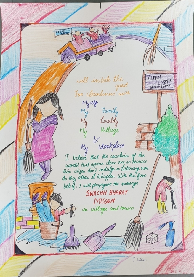 Poster Making Competition in the honour of Mahatma Gandhi's 150th birth anniversary