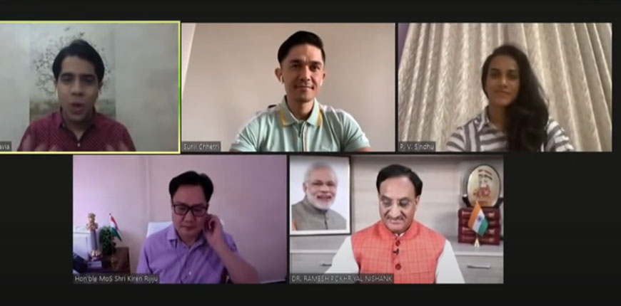 Fit India Talks Inaugural session