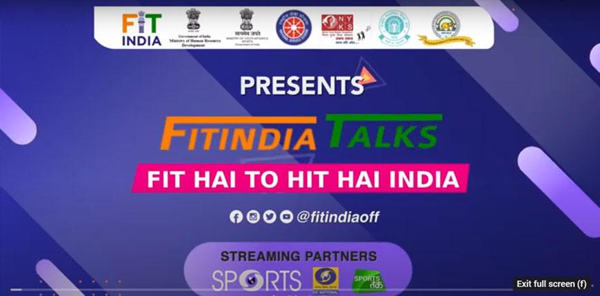 Fit India Talks with Manika Batra