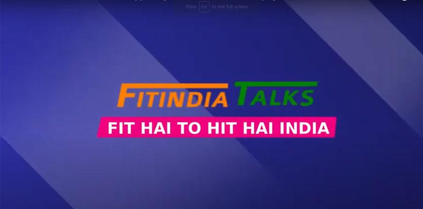 Fit India Talks with Ashwini Ponnappa - Arjuna Awardee Badminton player