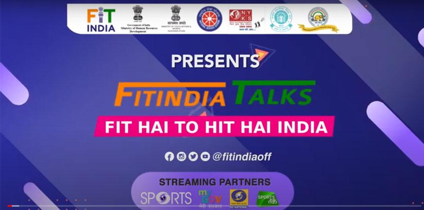 Fit India Talks with Deepa Malik Part-1