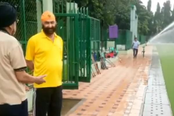 Sardar Gurbachan Singh, Hockey Olympian (1964,1968) & had been Coach of 1976 Indian Olympics