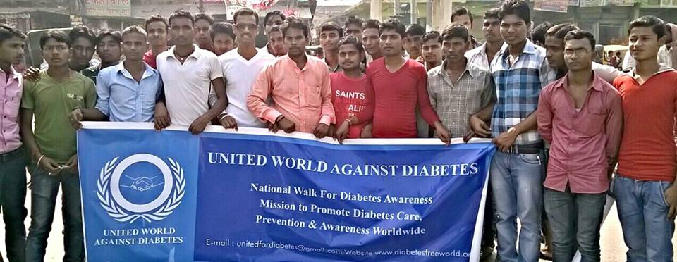 United We Stand for – DIABETES FREE INDIA