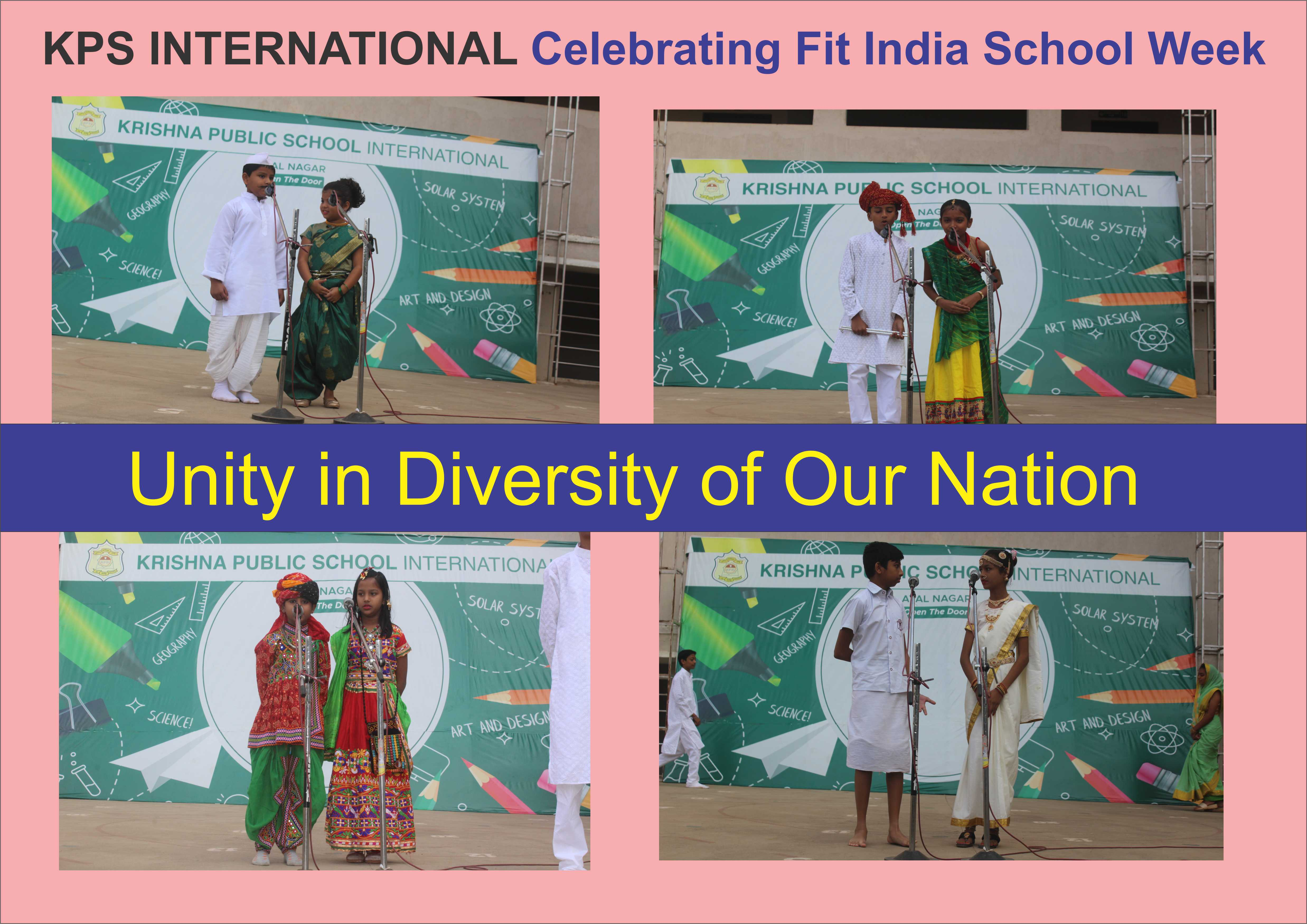Unity in Diversity of our Nation