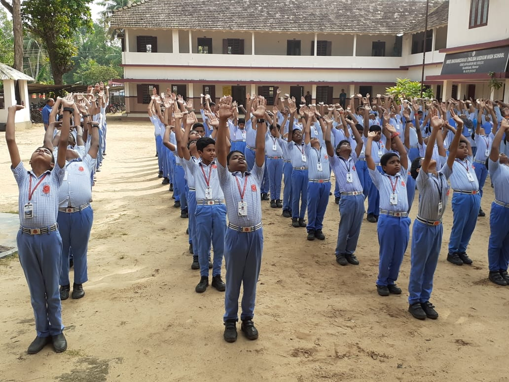 Morning Assembly Free Hand Exercise For All Mental Fitness Activities Fit India