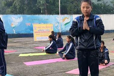 yoga  fit india