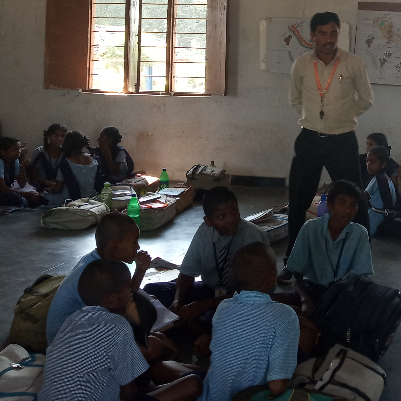 Quiz competition and village Pali games